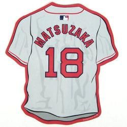 Boston Red Sox Dice K Matsuzaka Jersey Car Magnet