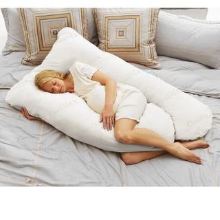 Todays Mom COOLMAX White Pregnancy Pillow