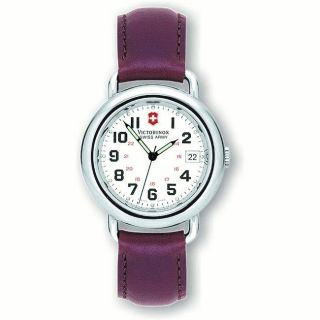 Swiss Army Mens Cavalry White Dial Watch