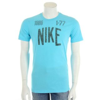 77 Bleu et gris   Achat / Vente T SHIRT Nike   Track Field 1 77