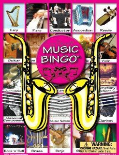 Music Bingo By Lucy Hammett Games   Teachers Edition 24