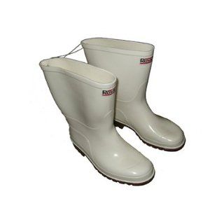 Joy Fish Commercial Grade Fishing/Rain Boots (White) Shoes