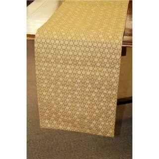 Gold Italian 70 inch Woven Table Runner