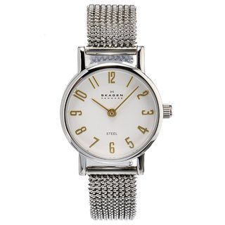 Skagen Womens Stainless Steel Mesh Band Watch