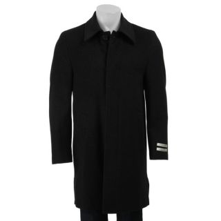 Kenneth Cole New York Mens Wool/Cashmere Blend Coat