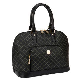 RIONI Signature Black Dome Handle Bag