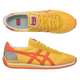 ONITSUKA TIGER Baskets California 78 Jaune, orange et argent   Achat