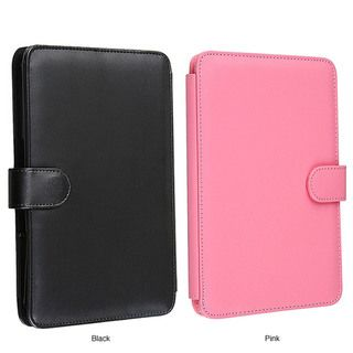 Black Leather Case for  Kindle 3