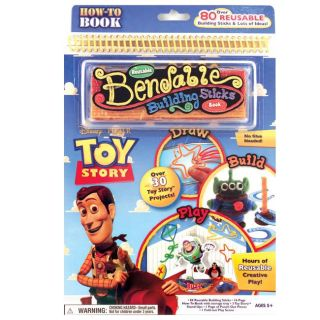 Toy Story Bend and Build Activity Book