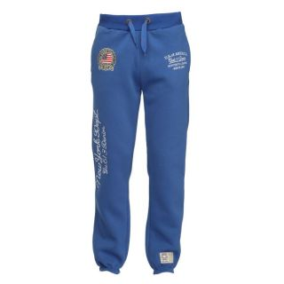 Gangster Unit Pantalon de Jogging Homme Bleu royal   Achat / Vente