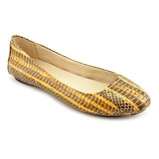 KORS Michael Kors Womens Odette Snakeskin Casual Shoes (Size 10