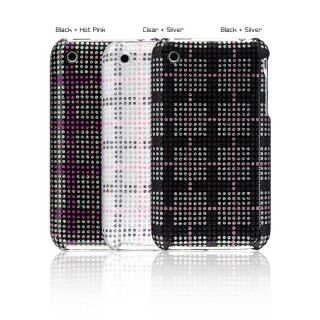 Premium Apple iPhone 3G/3GS Checker Glitter Case