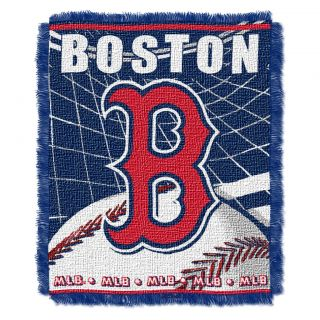 Northwest Boston Red Sox Woven Jacquard Blanket