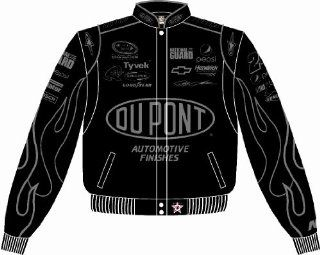 JEFF GORDON BLK/ BLK JACKET Sports & Outdoors