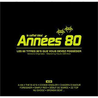 Le coffret idéal années 80 (4 CD)   Achat CD COMPILATION pas cher