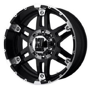 XD XD797 17x8 Black Wheel / Rim 8x180 with a 18mm Offset and a 124.20