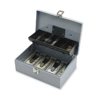 Sparco Products Products   Cash Box, 5 Compartments, 11 3