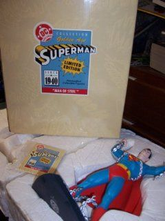 Superman Limited Edition 1940 Man of Steel Golden Age