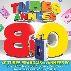 TUBES DES ANNEES 80   Compilation   Achat CD COMPILATION pas cher