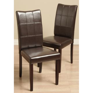 Warehouse of Tiffany Eveleen Brown Dining Chairs (Set of 8) Today $