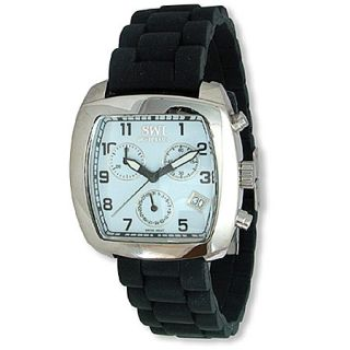 Swiss Watch MONTREUX Chronograph Watch, White Dial