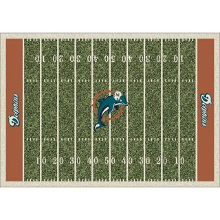 Miami Dolphins Homefield Rug (54 x 78)