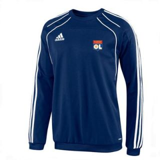 Sweat OL Olympique Lyonnais Marine (10 11) P48340   ADIDAS Sweat OL