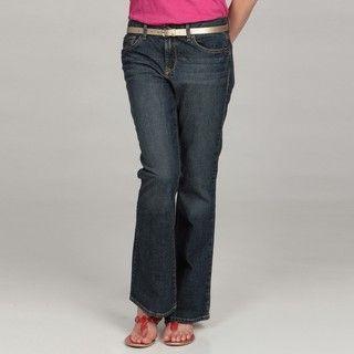 Calvin Klein Jeans Womens Rex Denim Flare Jeans