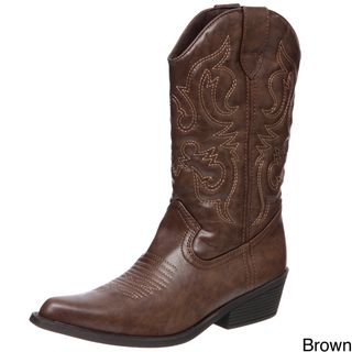 Madden Girl Womens Siinger Cowboy Boots FINAL SALE
