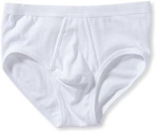 Schiesser Original Fine Rib Sports Brief (05 128) S/White Clothing