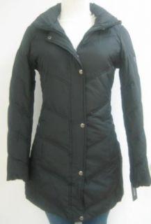 Guess Chevron Walker Down Coat, Jacket, Black, Medium