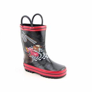Disney Pixar Cars Toddler Black/Red Rain Boots
