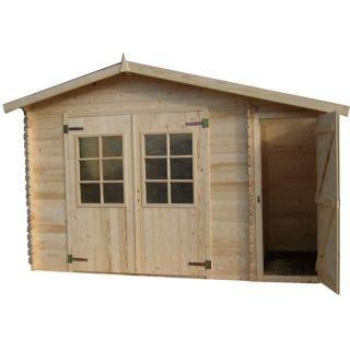 Abri de jardin en bois edmonton achat vente abris jardin chalet - Vente abris de jardin en bois ...