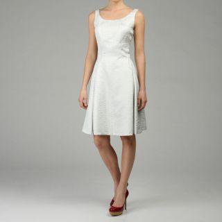 Lafayette 148 Womens Snakeskin Jacquard Tiffany Dress