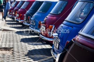 Classic mini cars  Foto Stock © Mauro Rodrigues #6041565