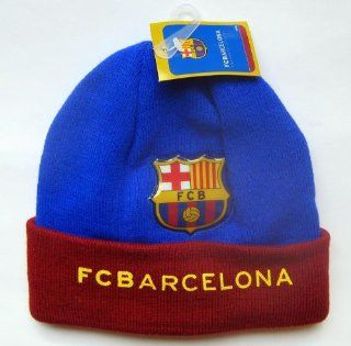 Official Licensed GENUINE FC Barcelona Beanie Hat W