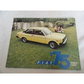 1975 Fiat 128   131 Sales Brochure Everything Else
