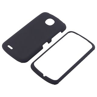 BasAcc Black Snap on Rubber Coated Case for Pantech Marauder