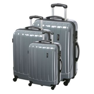 JEAN LOUIS SCHERRER 3 valises trolley DAN Gris   Achat / Vente SET DE