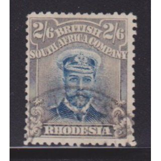 Rhodesia 133 VF used light cancel nice color ! cv $ 90