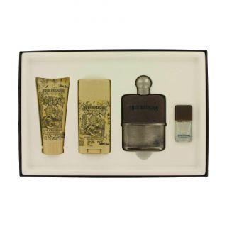 True Religion Mens 6 piece Fragrance Gift Set