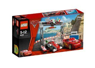 Cars 2 World Grand Prix Racing Rivalry 8423 (136 pcs) Toys & Games