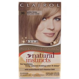 Clairol Natural Instincts #9G Golden Honey Hair Color (Pack of 4