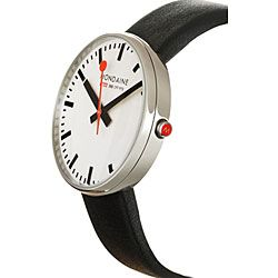 Mondaine Mens Swiss Railway Giant Watch