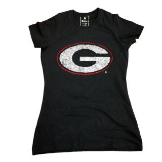 Campus Couture Womens Georgia Bulldogs Krista T shirt