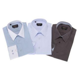 TORRENTE COUTURE 3 Chemises Faure/Mac MahonCarnot Gris et bleu, bleu