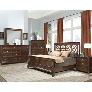 Vaughan Jackson Square 4 Piece Queen Bedroom Set