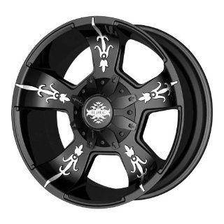 KMC Wheels Vandal KM6687 Matte Black Machined Wheel (20x9/6x135mm