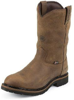 Justin Mens WYOMING WATERPROOF INSULATED Boots JWK4980 Shoes