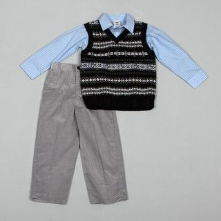 Good Lad Boys 3 piece Sweater Vest Set FINAL SALE
